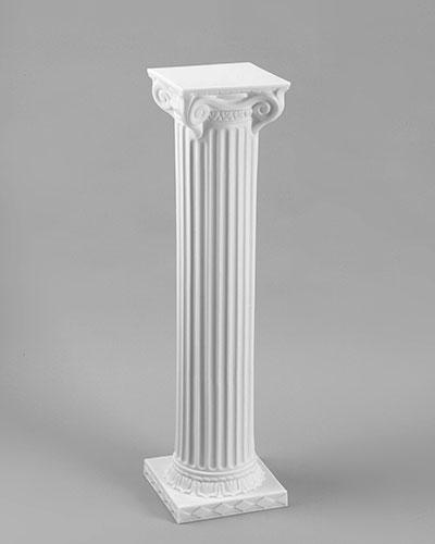 40 Inch Column - White